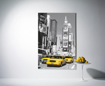 Mini Mural Yellow Cab