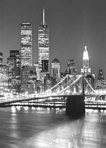 Fotomural Brooklyn bridge -vertical-