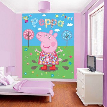 Fotomural Peppa Pig