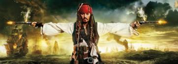 Fotomural Piratas del Caribe