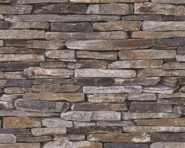 papel pintado pared piedra - Pared Piedra