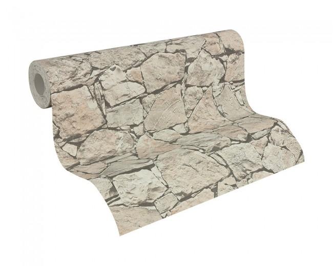 Papel pintado piedra - Papel pintado efecto piedra ...