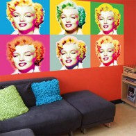 Mini Mural Visions of Marilyn
