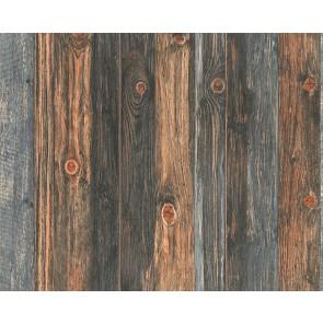 Papel pintado madera rústica