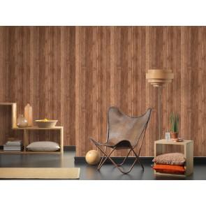 Papel pintado madera natural