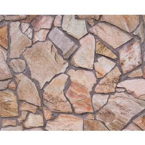 Papel pintado mosaico de piedras