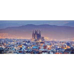 Fotomural Barcelona Skyline
