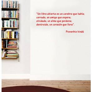 vinilo de libros