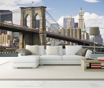 Fotomural Brooklyn Bridge de día