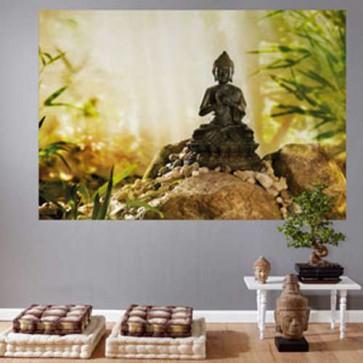 Mini Mural Buddha