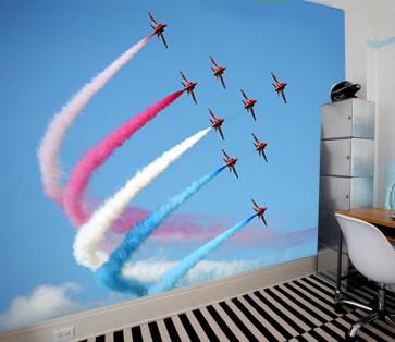Fotomural Aviones exhibición