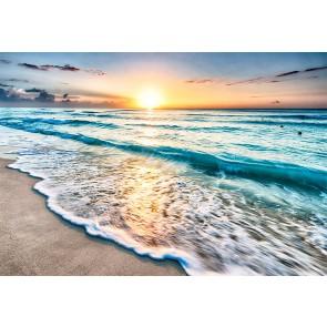 Fotomural atardecer sobre el mar