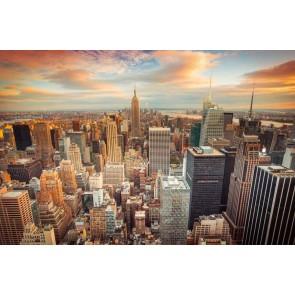 Fotomural Puesta de sol Nueva York