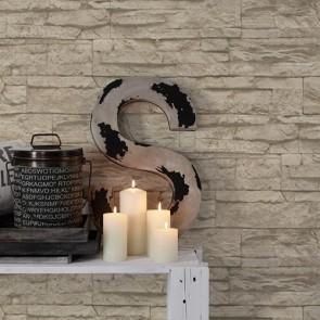 Papel de pared piedra rústica