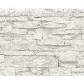 Papel de pared piedra blanca