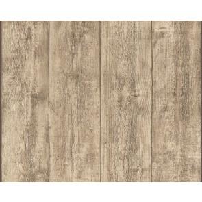 Papel pintado tablones de madera