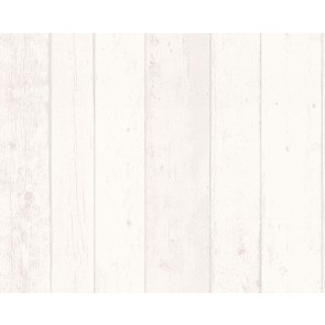 Papel pared madera blanca
