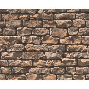 Papel pintado muro de piedra