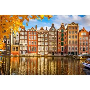 Fotomural otoño Amsterdam