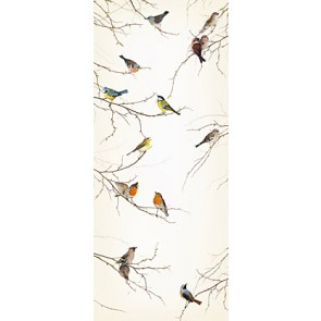 Mural de puerta Birds