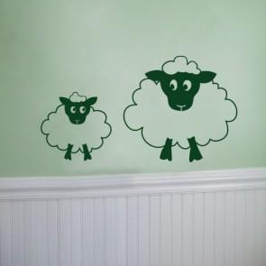 Vinilo Dos ovejas