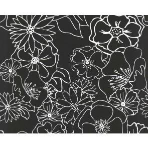 Papel pintado floral