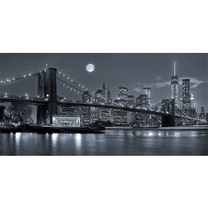 Fotomural Nueva York de noche