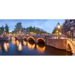 Fotomural canales de Amsterdam