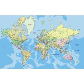 Fotomural Mapa político del mundo