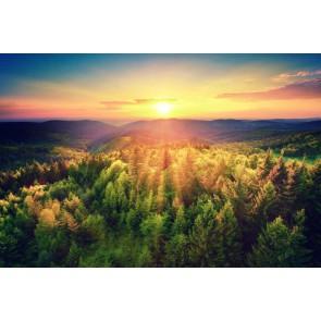 Fotomural puesta de sol