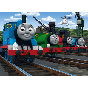 Fotomural Tren